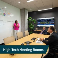 High Tech Meeting Rooms